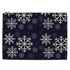 Snowflake Cosmetic Bag (xxl)  by Kathrinlegg