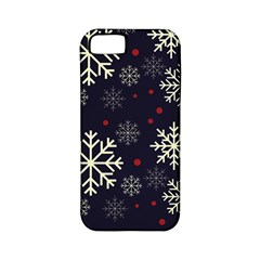Snowflake Apple Iphone 5 Classic Hardshell Case (pc+silicone) by Kathrinlegg