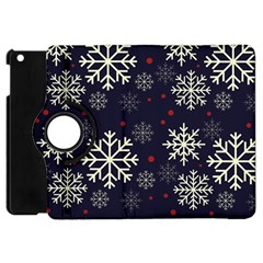 Snowflake Apple Ipad Mini Flip 360 Case by Kathrinlegg