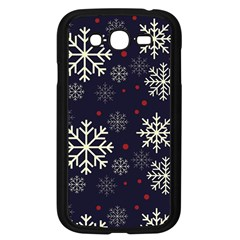 Snowflake Samsung Galaxy Grand Duos I9082 Case (black)