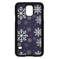 Snowflake Samsung Galaxy S5 Case (black) by Kathrinlegg