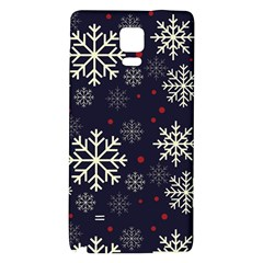 Snowflake Galaxy Note 4 Back Case by Kathrinlegg