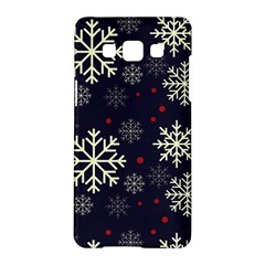 Snowflake Samsung Galaxy A5 Hardshell Case  by Kathrinlegg