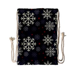 Snowflake Drawstring Bag (small) by Kathrinlegg