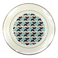 Moon Pattern Porcelain Plates