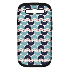 Moon Pattern Samsung Galaxy S Iii Hardshell Case (pc+silicone) by Kathrinlegg