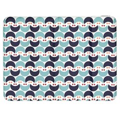 Moon Pattern Samsung Galaxy Tab 7  P1000 Flip Case by Kathrinlegg