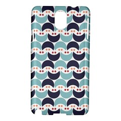 Moon Pattern Samsung Galaxy Note 3 N9005 Hardshell Case by Kathrinlegg