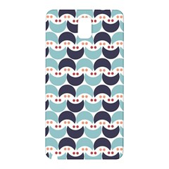 Moon Pattern Samsung Galaxy Note 3 N9005 Hardshell Back Case by Kathrinlegg