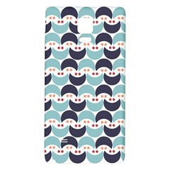 Moon Pattern Galaxy Note 4 Back Case by Kathrinlegg