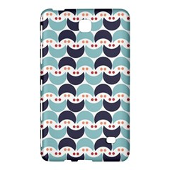 Moon Pattern Samsung Galaxy Tab 4 (8 ) Hardshell Case  by Kathrinlegg