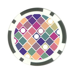 Dots And Squares Poker Chip Card Guards by Kathrinlegg
