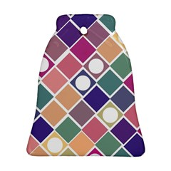 Dots And Squares Ornament (bell)