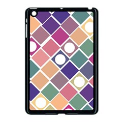 Dots And Squares Apple Ipad Mini Case (black) by Kathrinlegg