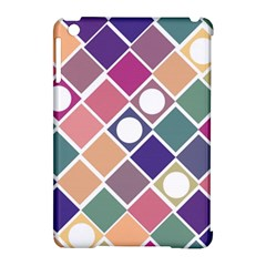 Dots And Squares Apple Ipad Mini Hardshell Case (compatible With Smart Cover) by Kathrinlegg