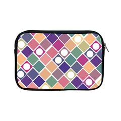 Dots And Squares Apple Ipad Mini Zipper Cases by Kathrinlegg