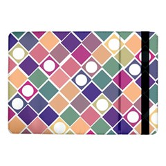 Dots And Squares Samsung Galaxy Tab Pro 10 1  Flip Case by Kathrinlegg
