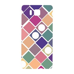 Dots And Squares Samsung Galaxy Alpha Hardshell Back Case by Kathrinlegg