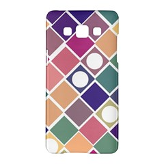 Dots And Squares Samsung Galaxy A5 Hardshell Case  by Kathrinlegg