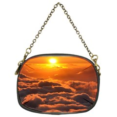 Sunset Over Clouds Chain Purses (one Side)  by trendistuff