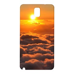 Sunset Over Clouds Samsung Galaxy Note 3 N9005 Hardshell Back Case by trendistuff