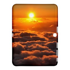 Sunset Over Clouds Samsung Galaxy Tab 4 (10 1 ) Hardshell Case  by trendistuff