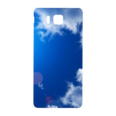Sun Sky And Clouds Samsung Galaxy Alpha Hardshell Back Case by trendistuff