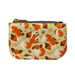 Curious Maple Fox Coin Change Purse Front
