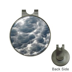 Storm Clouds 2 Hat Clips With Golf Markers by trendistuff