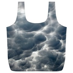 Storm Clouds 2 Full Print Recycle Bags (l)  by trendistuff