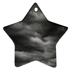 Storm Clouds 1 Star Ornament (two Sides)