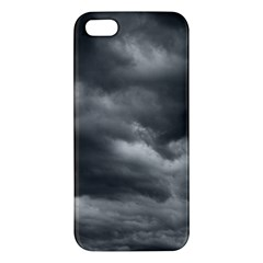 Storm Clouds 1 Apple Iphone 5 Premium Hardshell Case by trendistuff