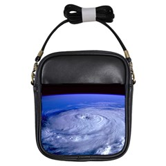 Hurricane Elena Girls Sling Bags by trendistuff
