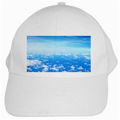 Clouds White Cap by trendistuff