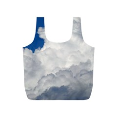 Big Fluffy Cloud Full Print Recycle Bags (s)  by trendistuff