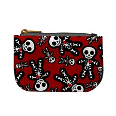 Cute Skeleton Pattern Coin Change Purse by Ellador