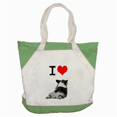 I Love Corgi Butts Accent Tote Bag by Corgigifts