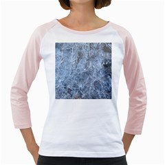 Watery Ice Sheets Girly Raglans by trendistuff