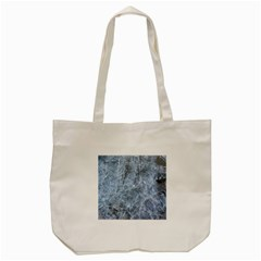 Watery Ice Sheets Tote Bag (cream)  by trendistuff