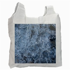 Watery Ice Sheets Recycle Bag (one Side) by trendistuff