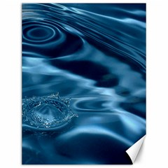 Water Ripples 1 Canvas 12  X 16