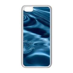 Water Ripples 1 Apple Iphone 5c Seamless Case (white) by trendistuff