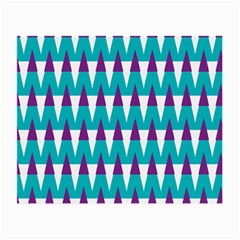 Peaks Pattern Small Glasses Cloth (2 Sides) by LalyLauraFLM