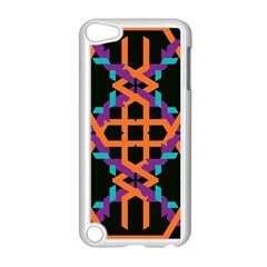 Juxtaposed Shapes Apple Ipod Touch 5 Case (white) by LalyLauraFLM