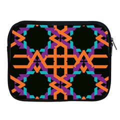 Juxtaposed Shapes Apple Ipad 2/3/4 Zipper Case