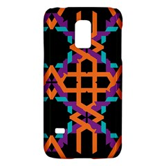 Juxtaposed Shapessamsung Galaxy S5 Mini Hardshell Case by LalyLauraFLM