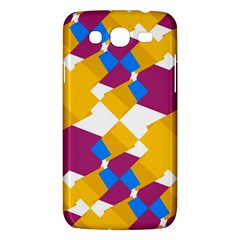 Layered Shapes Samsung Galaxy Mega 5 8 I9152 Hardshell Case  by LalyLauraFLM