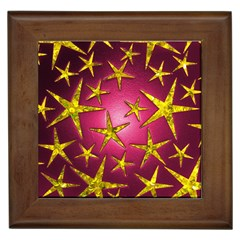 Star Burst Framed Tiles