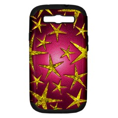 Star Burst Samsung Galaxy S Iii Hardshell Case (pc+silicone) by essentialimage