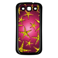 Star Burst Samsung Galaxy S3 Back Case (black) by essentialimage